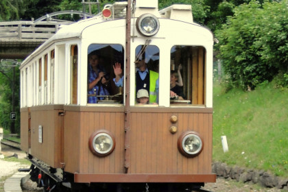 Renon`s narrow-gauge railway